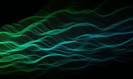 Abstrakter Hintergrund mit Punktfarbe Zusammenfassungsgeräusche kreativ Auch im corel abgehobenen Betrag lizenzfreie abbildung