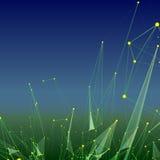 Abstrakter Hintergrund mit punktiertem Gitter Lizenzfreie Stockfotografie