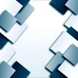 Abstrakter Hintergrund mit Quadraten Lizenzfreie Stockfotos