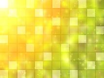 Abstrakter Hintergrund mit quadratischen Fliesen Stockbilder