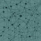 Abstrakter Hintergrund mit Ringen und Linie Lizenzfreies Stockfoto
