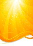 Abstrakter Hintergrund mit Stern Lizenzfreies Stockbild