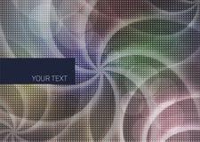 Abstrakter Hintergrund mit Streifenluftblasen Lizenzfreie Stockfotografie