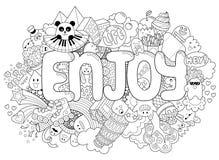 Abstrakter Hintergrund mit Text genießen Beschaffenheit für Typografie Schablone für die Werbung, Postkarten, Fahne, Webdesign Lizenzfreie Stockbilder