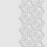 Abstrakter Hintergrund mit traditioneller Verzierung Stockbild