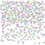 Abstrakter Hintergrund mit vielen fallenden Konfettis vektor abbildung