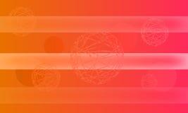 Abstrakter Hintergrund mit Zeilen Lizenzfreies Stockbild