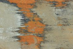 Abstrakter Hintergrund, Orange und Gray Colors Stockbild
