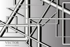 Abstrakter Hintergrund, Rohr, pneumatische Post Stock Abbildung