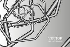 Abstrakter Hintergrund, Rohr, pneumatische Post vektor abbildung