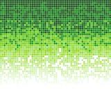 Abstrakter Hintergrund vieler Quadrate Das Bild ist in Stücke gebrochen vektor abbildung