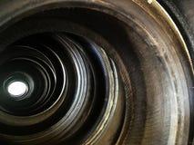 Abstrakter Hintergrund von Automobilreifen Stockfotografie