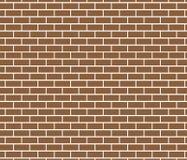 Abstrakter Hintergrund von Brown-Backsteinmauer Stockfotografie