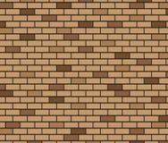Abstrakter Hintergrund von Brown-Backsteinmauer Stockbild