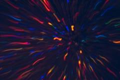 Abstrakter Hintergrund von bunten Linien in der Bewegung Lizenzfreies Stockfoto