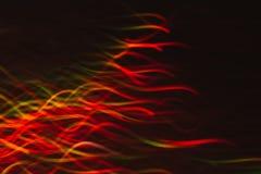 Abstrakter Hintergrund von bunten Wellen in der Bewegung Lizenzfreie Stockfotografie