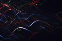 Abstrakter Hintergrund von bunten Wellen in der Bewegung Lizenzfreies Stockfoto