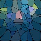 Abstrakter Hintergrund von den Edelsteinen Stockfoto