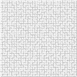 Abstrakter Hintergrund von den kleinen weißen Quadraten Vektor Abbildung