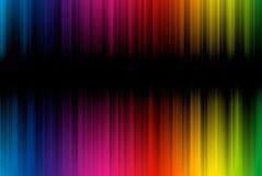 Abstrakter Hintergrund von den Spektrumzeilen mit Exemplar vektor abbildung