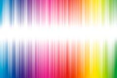 Abstrakter Hintergrund von den Spektrumzeilen mit Exemplar Lizenzfreies Stockfoto