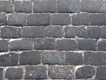 Abstrakter Hintergrund von der alten Pflasterungsspitze hinunter Ansicht lizenzfreies stockbild