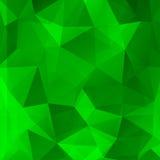 Abstrakter Hintergrund von Farbdreiecken Lizenzfreies Stockfoto
