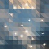 Abstrakter Hintergrund von Farbdreiecken lizenzfreie abbildung