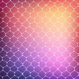 Abstrakter Hintergrund von farbigen Zellen Stockbilder