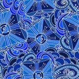 Abstrakter Hintergrund von geometrischen Mustern Stockfotos