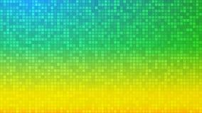 Abstrakter Hintergrund von sehr kleinen Quadraten vektor abbildung