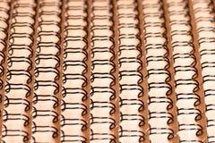 Abstrakter Hintergrund von verbindlichem Draht Lizenzfreies Stockfoto