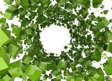 Abstrakter Hintergrund - Würfel Stockfotos