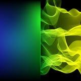 Abstrakter Hintergrund, welche aus bunter Linie besteht vektor abbildung