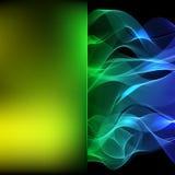 Abstrakter Hintergrund, welche aus bunter Linie, Vektor besteht vektor abbildung