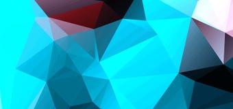 Abstrakter Hintergrund, welche aus Dreiecken besteht Lizenzfreie Stockfotografie