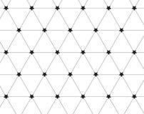 abstrakter Hintergrund Wiederholen des abstrakten Hintergrundes mit Sternen Stockfotografie
