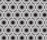 abstrakter Hintergrund Wiederholen von geometrischen Fliesen Stockfoto