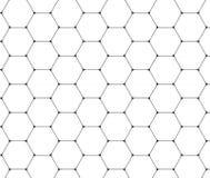 abstrakter Hintergrund Wiederholen von geometrischen Fliesen mit dünnem hexa Lizenzfreie Stockfotografie