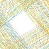 Abstrakter Hintergrund, zum des Textes von den farbigen Linien einzufügen stock abbildung