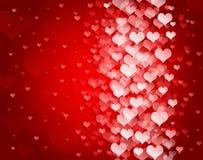Abstrakter Hintergrund zum Valentinstag stock abbildung