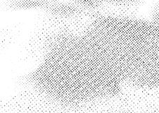 Abstrakter Hintergrundplan der Weinleseschwarzweiss-Kratzer stock abbildung