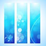 Abstrakter Hintergrundvorsatz mit Wasserwelle Lizenzfreies Stockfoto