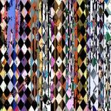 Abstrakter Hippie-Hintergrund Stockbild