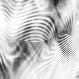 Abstrakter Holzschnitt redete Hintergrund an vektor abbildung