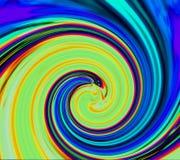 Abstrakter hypnotischer Strudel Schönheitsmodehintergrund Abstrakter Hintergrund des Sports Farb Straße drehzahl bewegung Neonstr vektor abbildung
