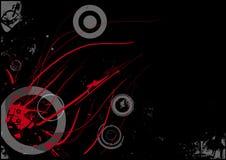Abstrakter künstlerischer Hintergrund lizenzfreie abbildung