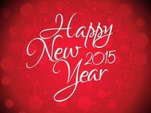 Abstrakter künstlerischer Hintergrund des neuen Jahres Lizenzfreie Stockfotografie
