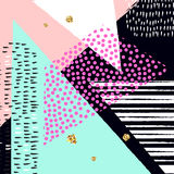 Abstrakter künstlerischer Hintergrund des Vektors Modernes und stilvolles abstraktes Designplakat Stockfoto