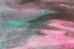 Abstrakter künstlerischer strukturierter handgemalter Hintergrund auf Segeltuch Stockbild